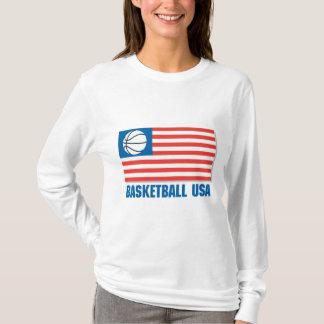 basketball usa flag T-Shirt