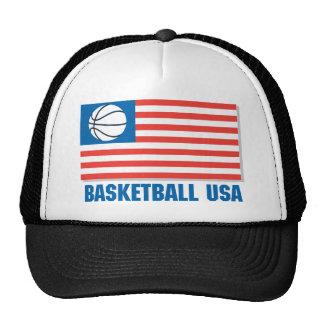 Basketball USA Trucker Hat