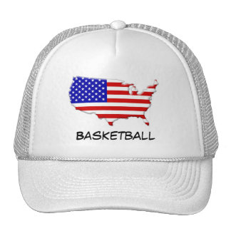 Basketball USA team support in London Olympics Trucker Hat