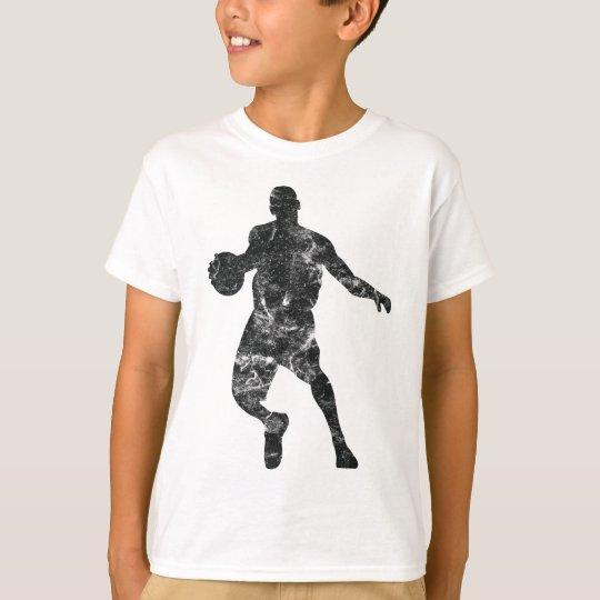 Basketball Used Look Retro T-Shirt