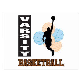 Basketball Varsity Postcard
