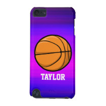 Basketball; Vibrant Violet Blue and Magenta iPod Touch 5G Case