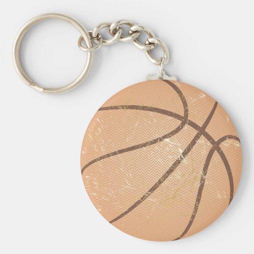 basketball vintage key chains