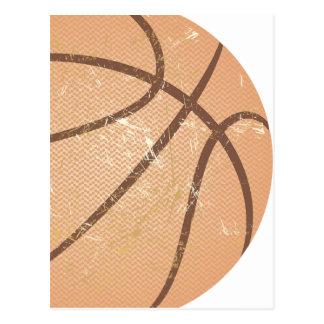 basketball vintage postcard