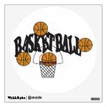Basketball Wall Art Room Graphic