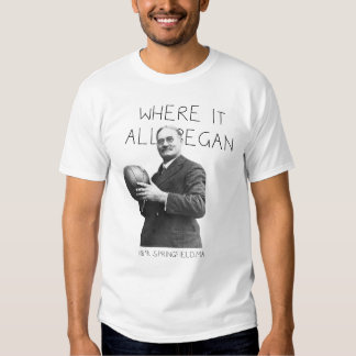 BASKETBALL: WHERE IT ALL BEGAN T-Shirt