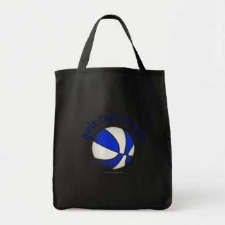 Basketball - White/Blue Products Bag