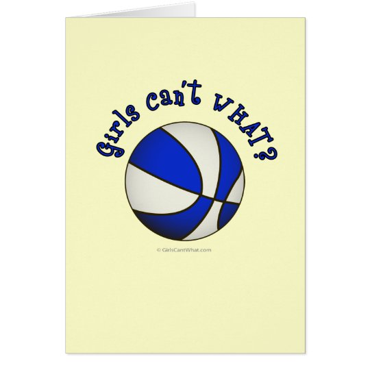 Basketball - White/Blue Products Card