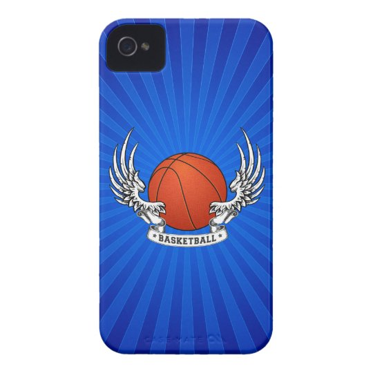 Basketball Wings iPhone 4 Case-Mate Case