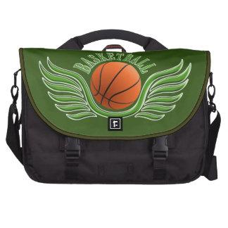 basketball wings laptop bags