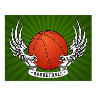 Basketball Wings Postcard