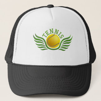 basketball wings trucker hat