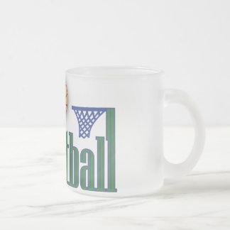 Basketball with Ball n Net Mugs