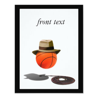Basketball With Fedora and Whip Custom Announcements