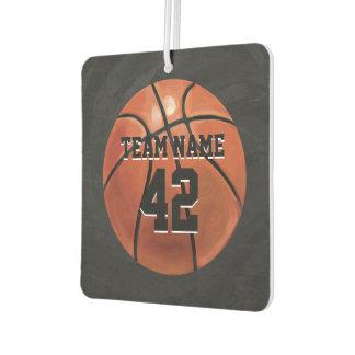 Basketball with Name Air Freshener