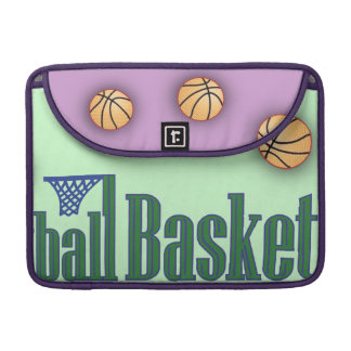 Basketball with Net Sleeve For MacBook Pro