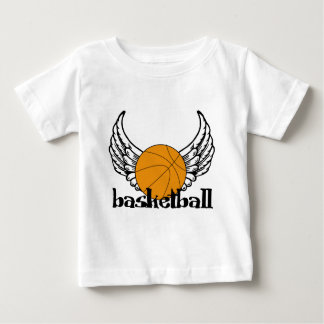 Basketball with Wings Baby T-Shirt