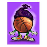 Basketball Wizard Postcards