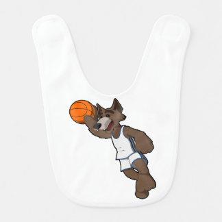 Basketball Wolf Bib