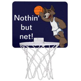 Basketball wolf cartoon mini basketball backboards