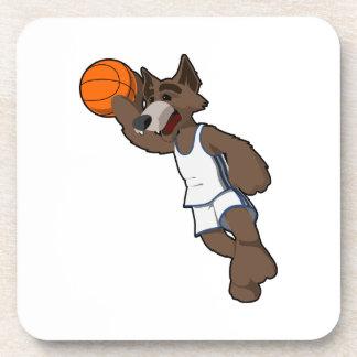 Basketball Wolf Coaster