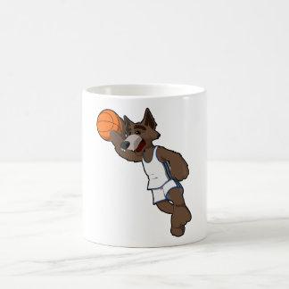Basketball Wolf Coffee Mug