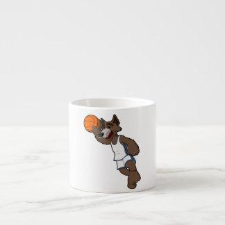 Basketball Wolf Espresso Cup