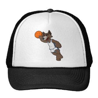 Basketball Wolf Trucker Hat