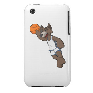 Basketball Wolf iPhone 3 Case-Mate Case
