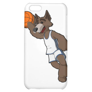 Basketball Wolf Cover For iPhone 5C