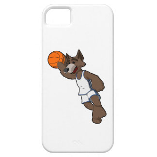Basketball Wolf iPhone SE/5/5s Case