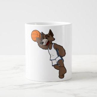Basketball Wolf Large Coffee Mug
