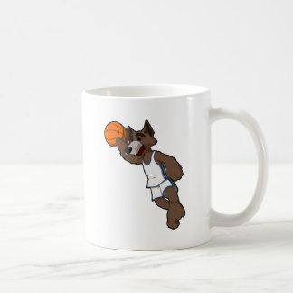 Basketball Wolf Mugs