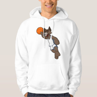 Basketball Wolf Pullover