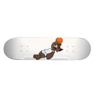 Basketball Wolf Skateboard Deck