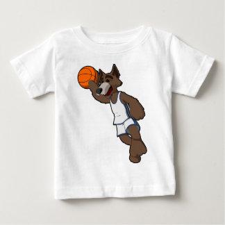 Basketball Wolf T Shirt
