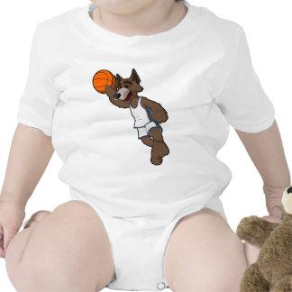 Basketball Wolf T-shirts