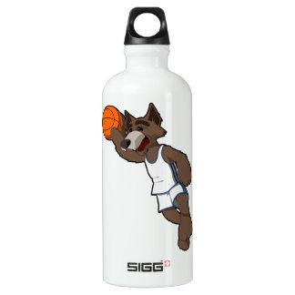 Basketball Wolf Water Bottle