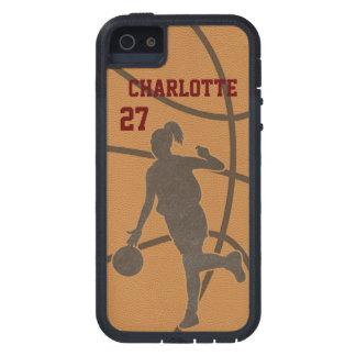 Basketball Woman iPhone iPad iPod Galaxy Razr Case
