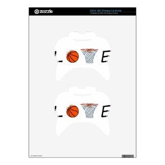 Basketball Xbox 360 Controller Decal