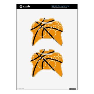 Basketball XBOX 360 Wireless Controller Skin Xbox 360 Controller Decal