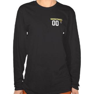 Basketball Yellow Letter Personalize #Shirt