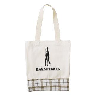 Basketball Zazzle HEART Tote Bag