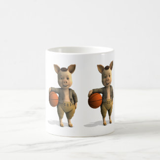 Basketballer Piglet Coffee Mug