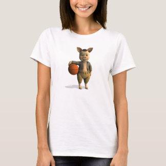 Basketballer Piglet T-Shirt