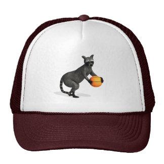Basketballer Raccoon Trucker Hat