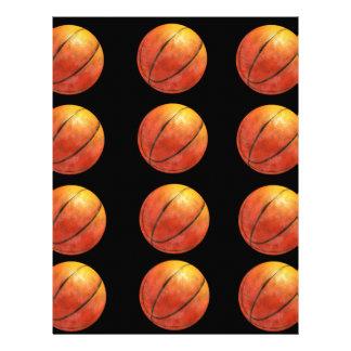 Basketballl Letterhead