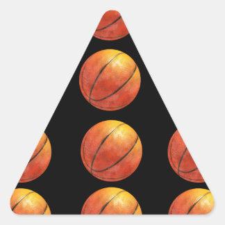 Basketballl Triangle Sticker