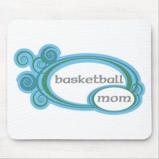 basketballmomwithswirlcircles. mouse pad