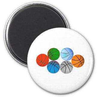 Basketballs 2010 magnet